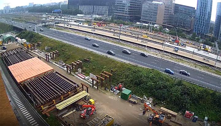 Station Amsterdam Zuid toneel van 'lastige precisieklus'