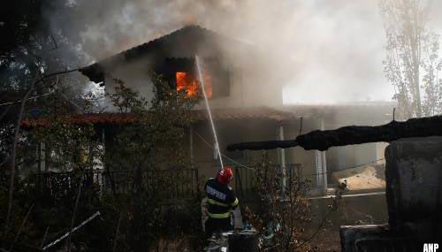 Nieuwe evacuaties Griekse dorpen door bosbrand