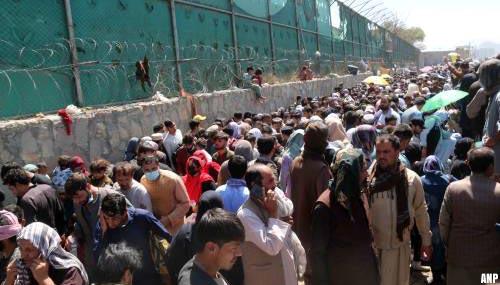 Britten en Spanjaarden stoppen met evacuaties Afghanistan