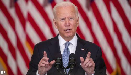 Populariteit president Biden daalt fors na Taliban-opmars