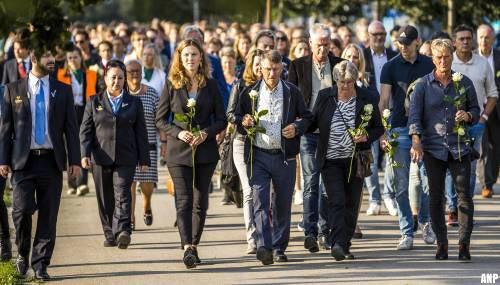 Honderden lopen mee met stille tocht voor Tanja Groen