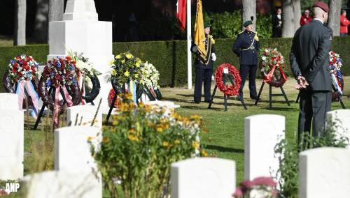 Herdenking op Airborne begraafplaats Oosterbeek weer besloten