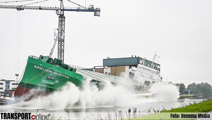 Arklow Clipper te water gelaten in Westerbroek [+foto]