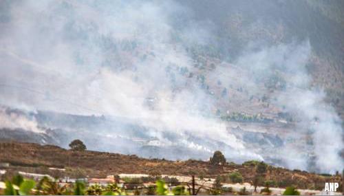 Geen risico's voor volksgezondheid door aswolk uit La Palma