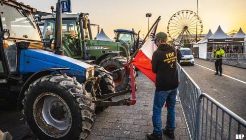 Boerenprotest bij circuit Zandvoort