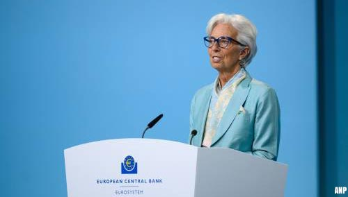ECB: inflatie schiet dit jaar voorbij het doel van 2 procent