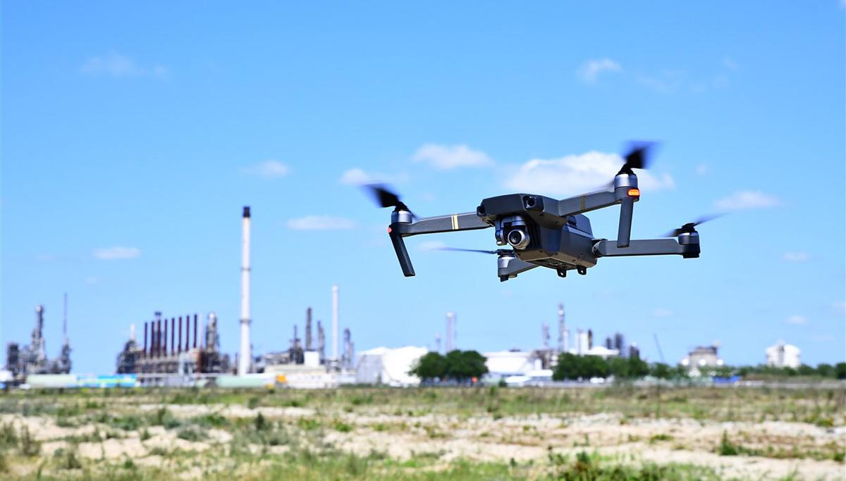 Inzet van drones voor nog veiliger haven- en industrieterrein Moerdijk