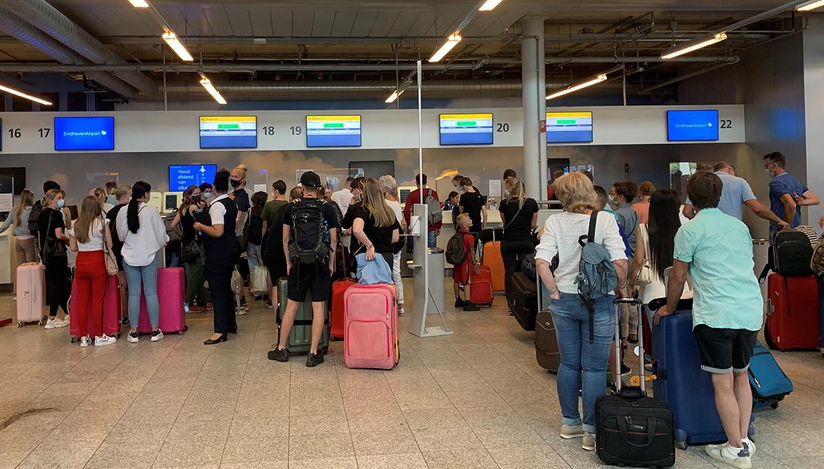 Eindhoven Airport verwacht in oktober circa 3100 vluchten