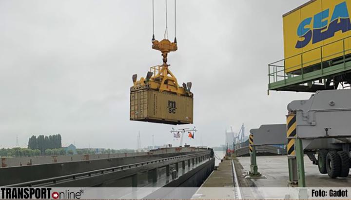 Gadot Belgium en DFDS vervoeren containers in North Sea Port voortaan via het water