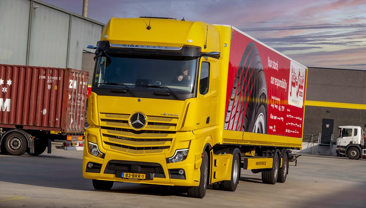 Inter-Sprint Banden kiest met aanschaf van Mercedes-Benz trucks voor een nieuw, tweede merk