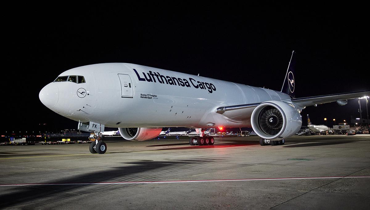 Lufthansa Cargo koopt twee nieuwe Boeing 777 vrachtvliegtuigen
