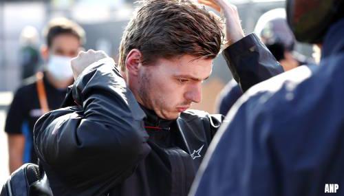 Max Verstappen in Zandvoort op het matje bij de wedstrijdleiding