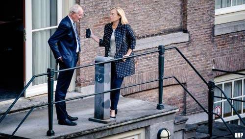 VVD, D66 en CDA beraden zich na overleg bij Remkes