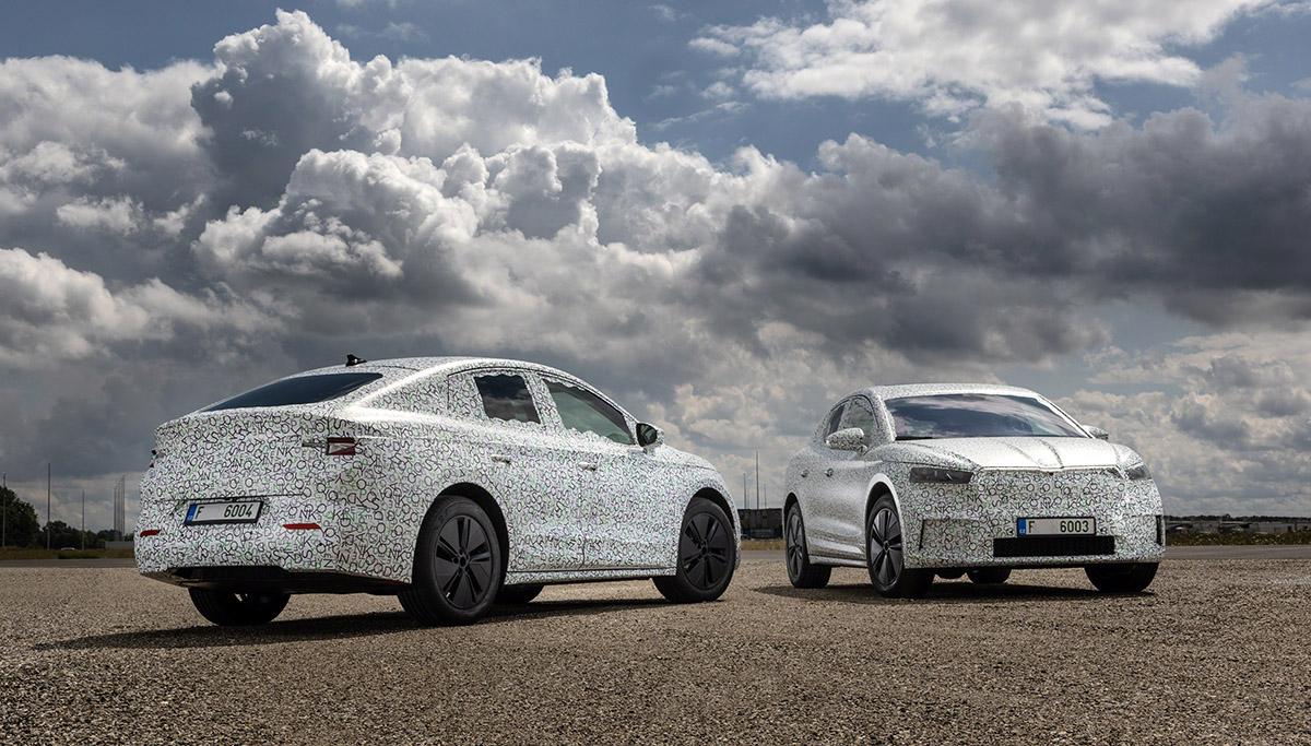 Nieuwe, nog stijlvoller gelijnde carrosserievariant van elektrische SKODA ENYAQ iV