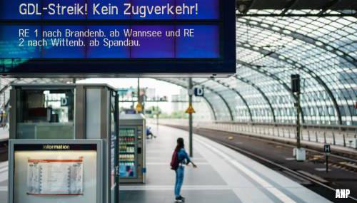 Stakende Duitse treinmachinisten verwerpen nieuw aanbod Deutsche Bahn