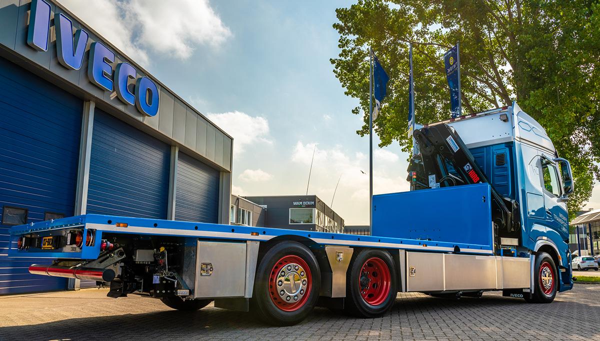Nieuwe IVECO X-WAY voor Wempe Transport Limmen