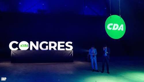 CDA-top krijgt op partijcongres felle kritiek én complimenten