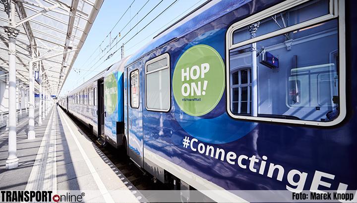Connecting Europe Express doet zondag Amsterdam aan