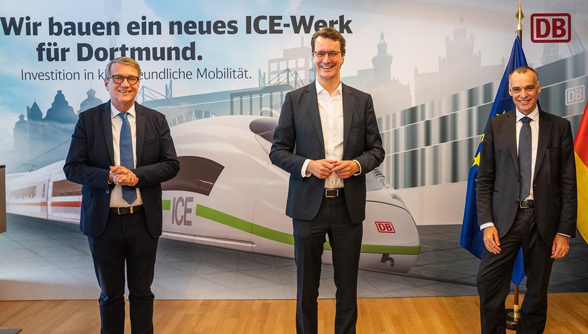 Nieuwe ICE-fabriek in Dortmund: Deutsche Bahn investeert ruim 400 miljoen euro
