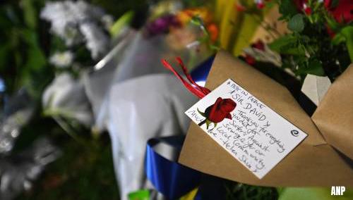 Britse politie ziet moord parlementslid David Amess als terreurdaad