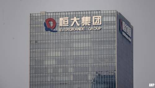 Chinese ontwikkelaars zien omzet dalen door crisis Evergrande