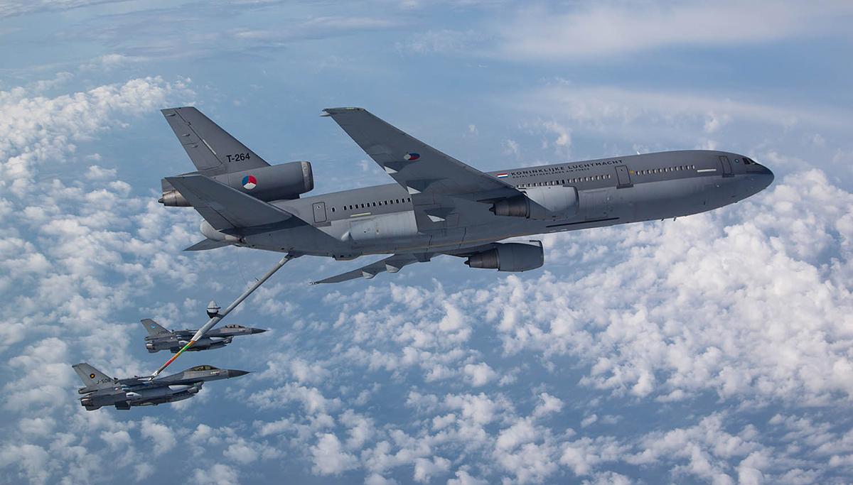 Laatste ronde voor KDC-10 tanker- en transportvliegtuig van de Koninklijke Luchtmacht