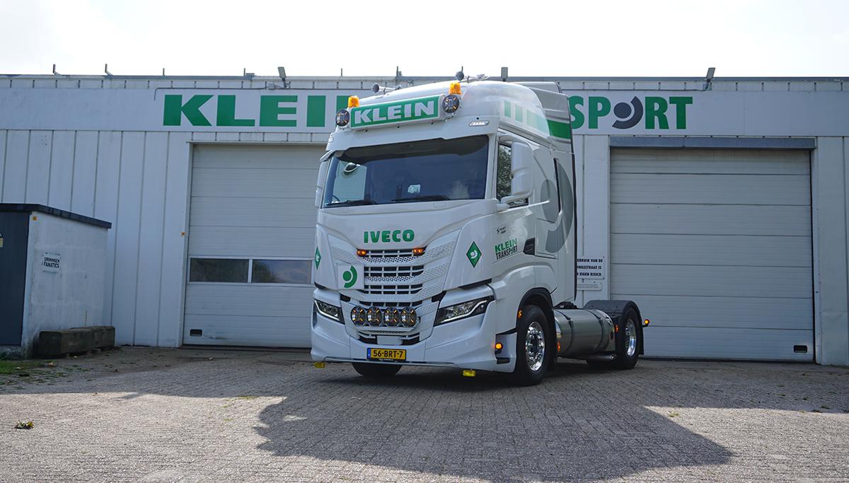 Klein Transport neemt prachtige IVECO S-WAY op LNG in gebruik