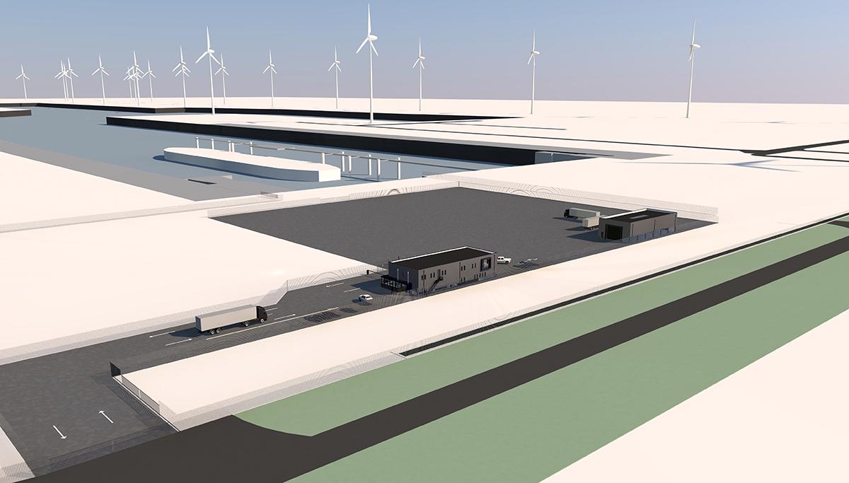 Opening Permanent Militair Object in Eemshaven voor strategisch zeetransport