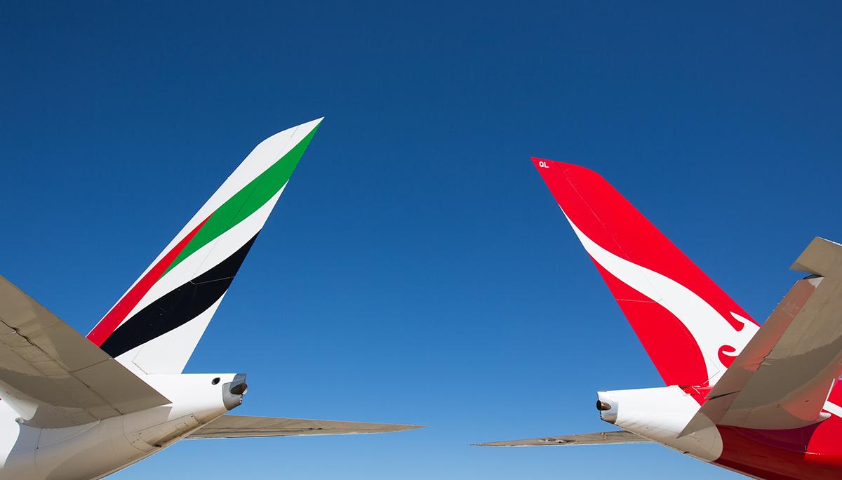 Emirates en Qantas verlengen hun partnerschap om het herstel van internationaal reizen te versterken