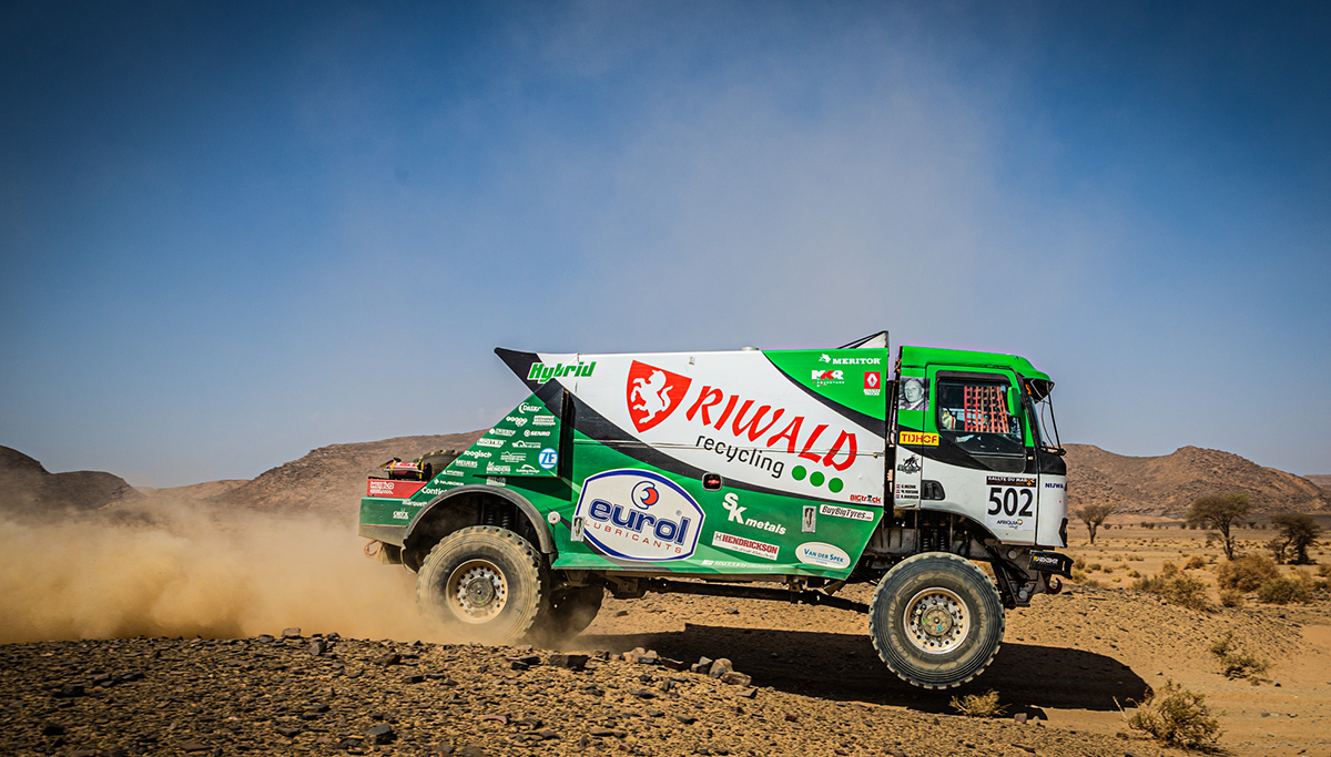 Etappewinst voor Riwald Dakar Team in Rallye du Maroc