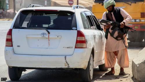 Regeringslid Taliban ontkent vervolging van oud-tolken Nederland