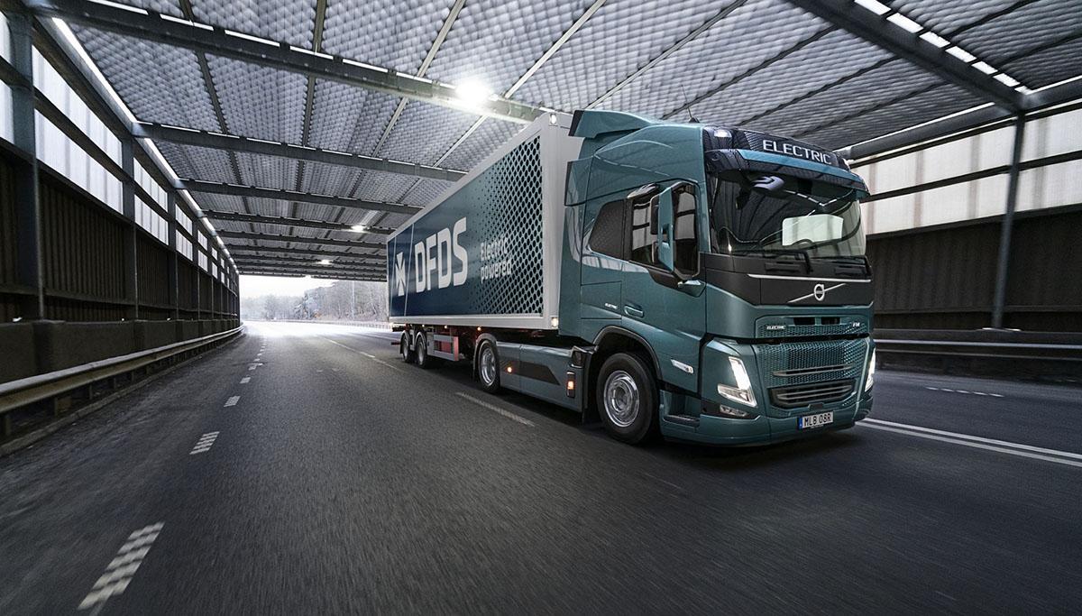 DFDS bestelt honderd Volvo's FM Electric