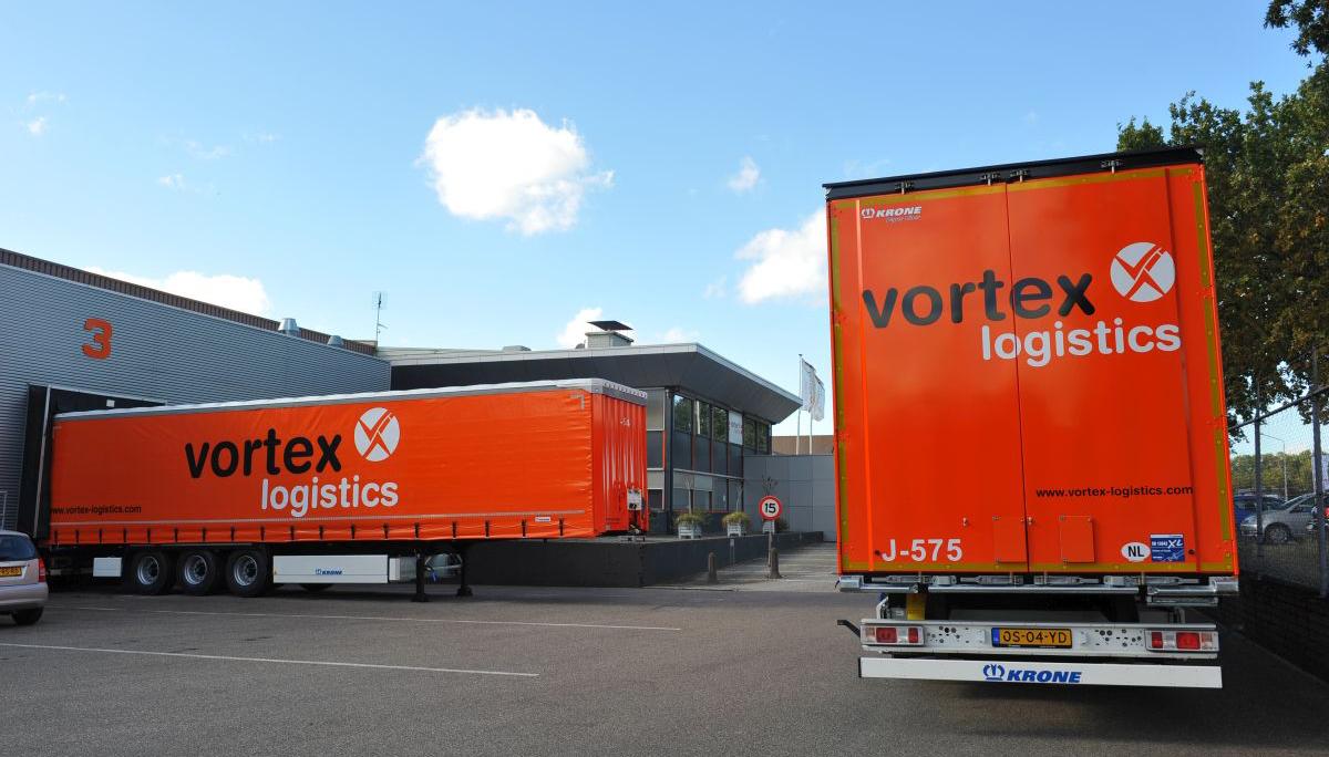 75 Krone Paper-Liners met Joloda voor Vortex Logistics
