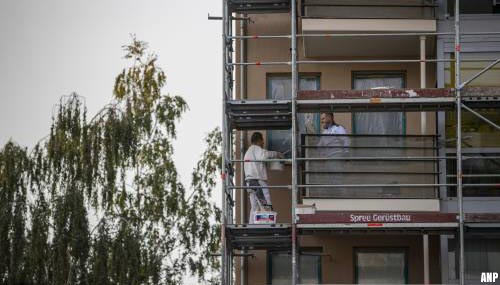 Duitse bouwvakkers dreigen met landelijke staking