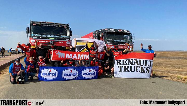 Mannen van Mammoet Rallysport hebben missie volbracht