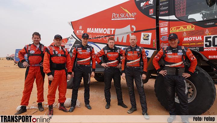 Team Mammoet Rallysport doet goede zaken