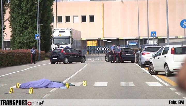 Vakbondsman doodgereden door vrachtwagen bij blokkade dc Lidl in Italië [+foto's]