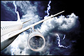 'Tientallen blikseminslagen in vliegtuigen'