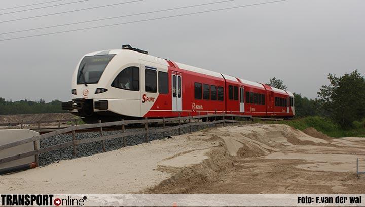 Ontspoorde trein in Groningen is weg, ProRail herstelt spoor