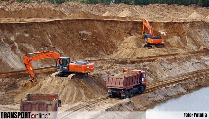 Wegtransport profiteert van toegenomen bouwactiviteit