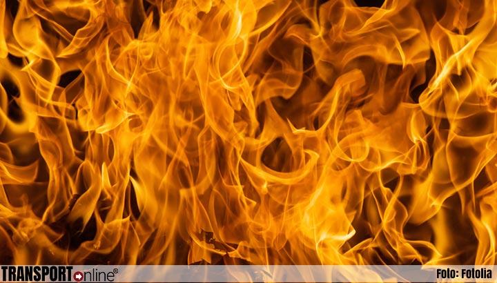 Grote brand in pand in Aalsmeer