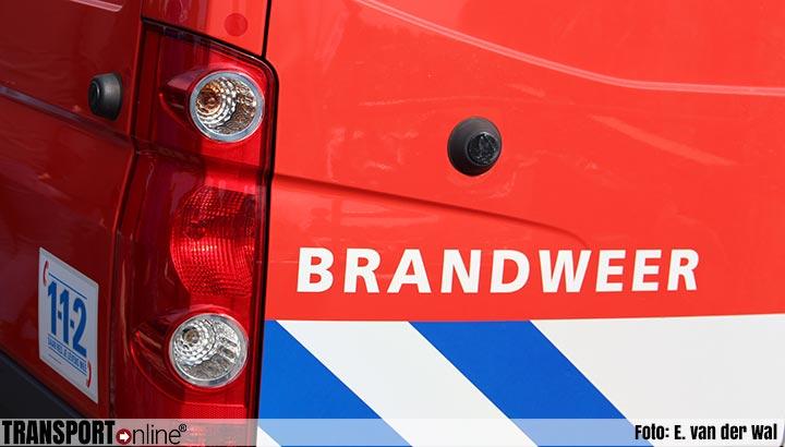 Grote brand in winkelpand Action en Aldi in Almere [+video]