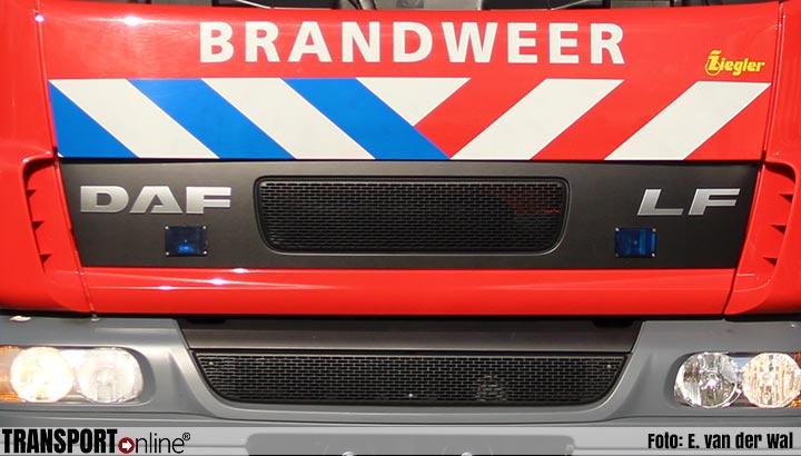 Zeer grote brand bij stomerij in Haarlem