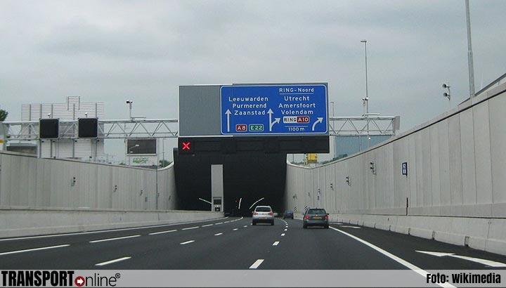 Nachtelijke afsluitingen Coentunnel (A10)