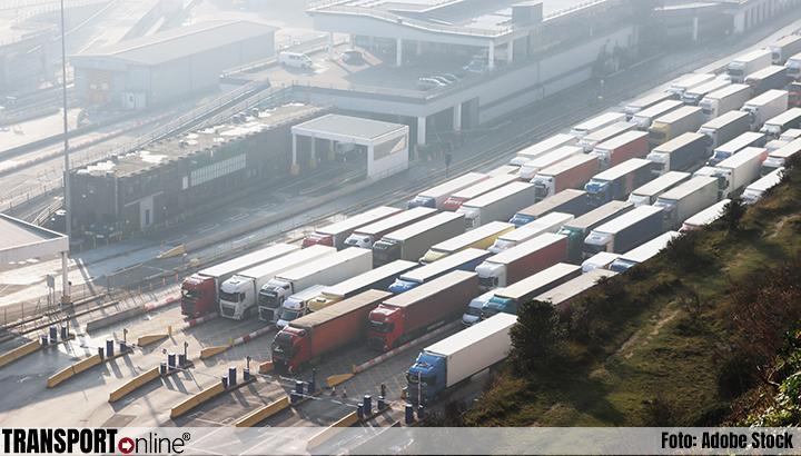 Minder dan 200 vrachtwagens staan nog vast bij Franse grens