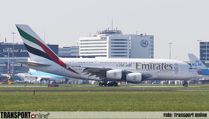 'Luchtvaartconcern Emirates overweegt groot banenverlies'