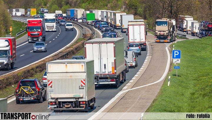 Fileschade vrachtverkeer naar nieuw record: 1,4 miljard euro
