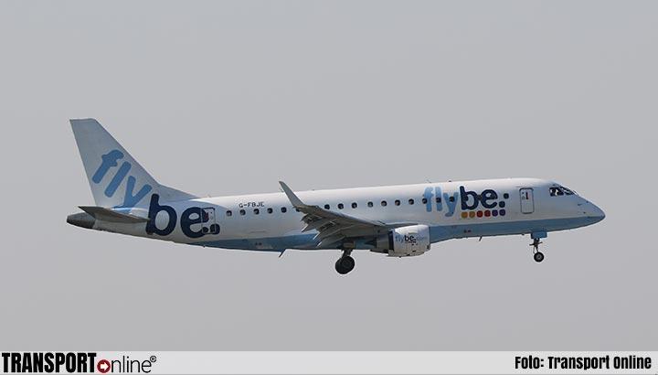 Alle toestellen vliegmaatschappij Flybe definitief aan de grond