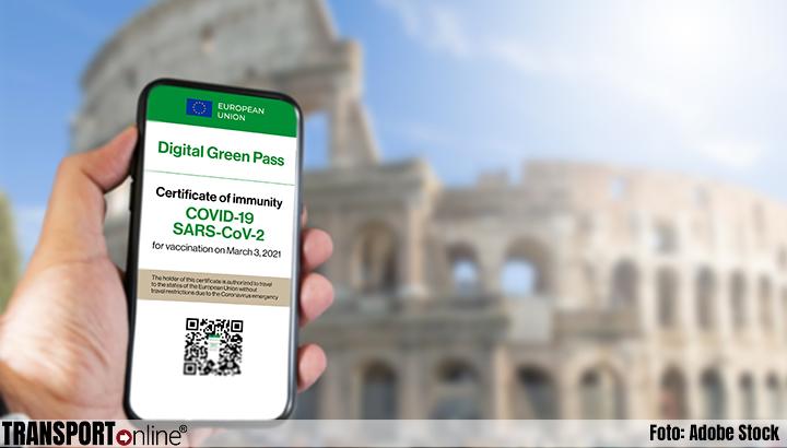 Ook vrachtwagenchauffeurs hebben Green Pass nodig in Italië