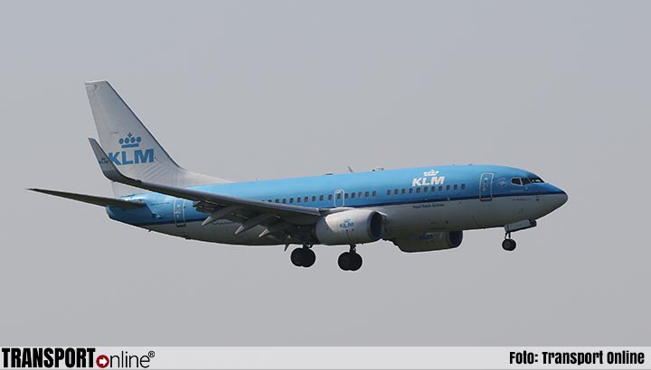 Meer passagiers KLM ondanks stakingen, weer minder vracht